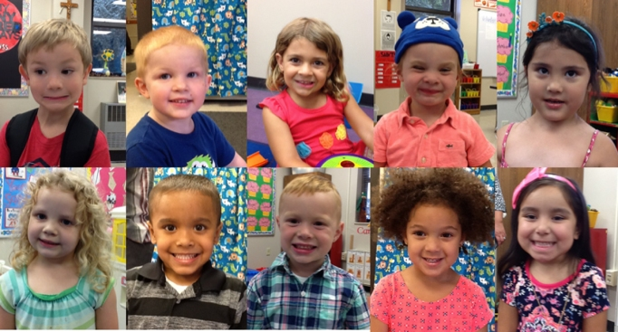 Our Lady of Grace Preschool Class 2017-2018